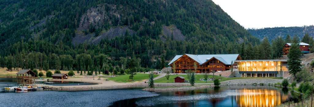 Enjoy Beautiful BC to it's fullest with the stunning 1500 acres of property