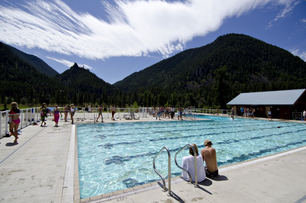 Pool at RockRidge Canyon Retreat Centre BC