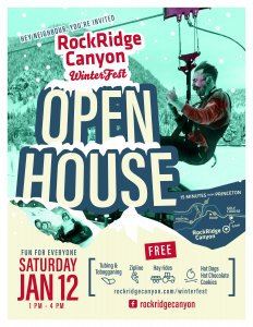 WinterFest Open House 2019 RockRidge Canyon Retreat Centre