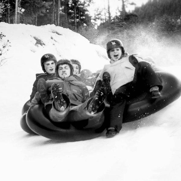 Winter Tubing RockRidge Canyon Retreat Centre Princeton BC