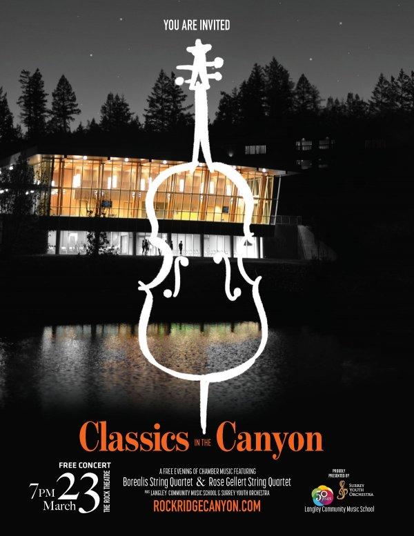 FREE Symphony Night at RockRidge Canyon