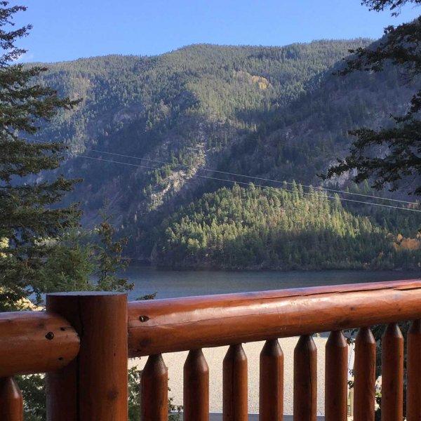 View from Dorm Lodge - RockRidge Canyon Retreat Centre