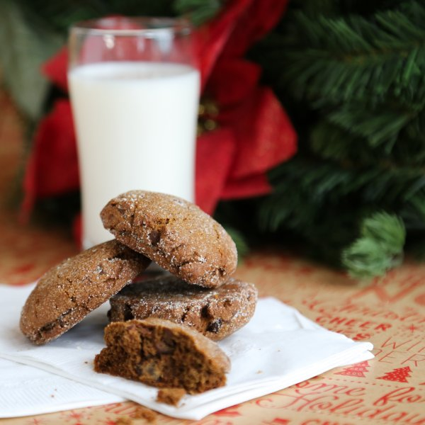 Chewy Chocolate Gingerbread